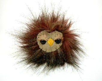 Stuffed Toy Owl - Baby Owlet Miniature