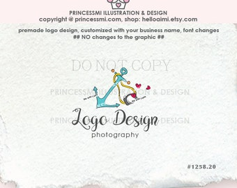 1258-20 Anchor logo design, photographer logo, sea, watermark design, photography logo, business watermark, banner, business card