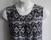 S - XL Post Surgery Shirt - Shoulder, Breast Cancer, Mastectomy, Heart / Special Needs / Adaptive Clothing / Rehab/ Breastfeeding-Style Sara