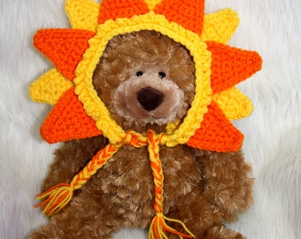Toddler SUNSHINE Hat - Happy Sun - Birthday Hat - Smash Cake Hat - Photo Prop