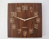 Vintage Verichron Mod Wall Clock