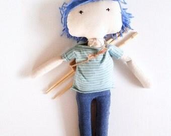 CUSTOM Boy Doll