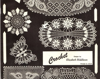 ELIZABETH HIDDLESON CROCHET Volume 22 Pattern Book