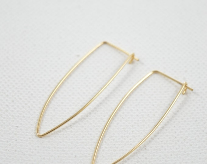 Dagger Hoop Earrings
