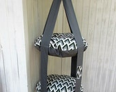Cat Bed, Mountain Zig Zag Double Cat Bed, Kitty Cloud, Hanging Cat Bed, Pet Furniture, Pet Gift