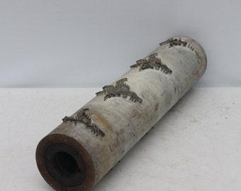 Antique Wallpaper Print Roller Industrial Supply Decorator Accent Fern Leaf Botanical Design #3