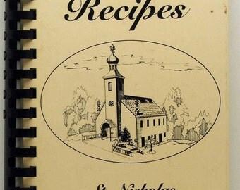 Favorite Recipes St. Nicholas Orthodox Church Barton Ohio 1996 HC/SB