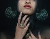 Septum Ring Septum Ring 22 K - Gold Nose Ring -  Septum Ring - Gold Nose Ring -  Septum Cuff