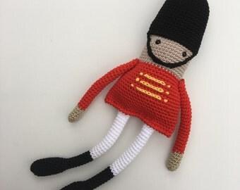 Knitting Pattern For Long Legged Doll : Long Legged Christmas Angel Doll Crochet Pattern