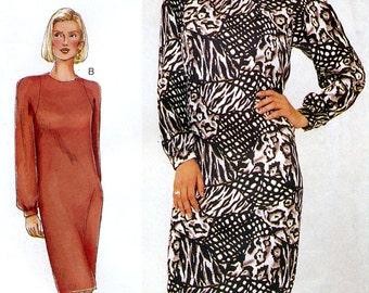 Vogue 7339 Sewing Pattern for Misses' / Misses' Petite Dress - Uncut - Size 20, 22, 24