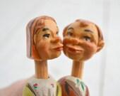 Mechanized Kissing Couple Cork