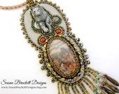 Spirit Wolf Pendant Necklace SALE
