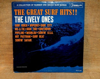 The Lively Ones - The Greatest Hits!! - 1963 Vintage Vinyl Record Album
