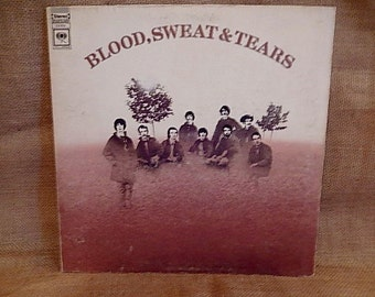 BLOOD, SWEAT And TEARS - Blood, Sweat and Tears - 1969 Vintage Vinyl GATEfold Record Album