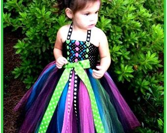 Witch Tutu Dress Costume