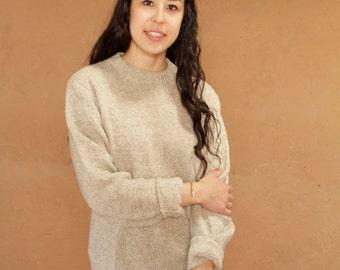woolrich style COWICHAN 60s wool nordic sweater EUROPEAN top