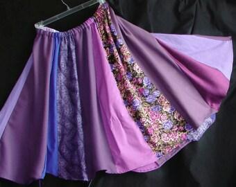 Spin Skirt READY 2 SHIP patchwork skirt hippie skirt boho skirt bohemian skirt gypsy skirt festival skirt tribal skirt boho patchwork skirt