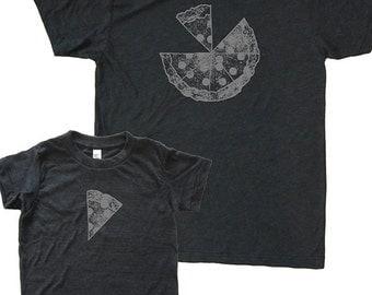 vater sohn passende pizza hemden herren t shirt. Black Bedroom Furniture Sets. Home Design Ideas