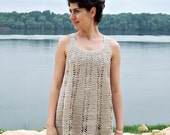 Crochet Pattern, woman  tunic,  tank top, women sweater, crochet dress, beach cover up, DIY, photo tutorial
