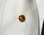 Eye of the tiger tie tack