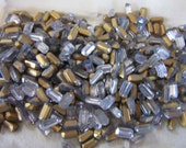 Vintage Alexandrite Octagon Rhinestones 8x4mm Made in Germany US Zone QTY - 6