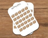 Cute stickers - PACKAGES, letters, happymail, post office, perfect for your planner