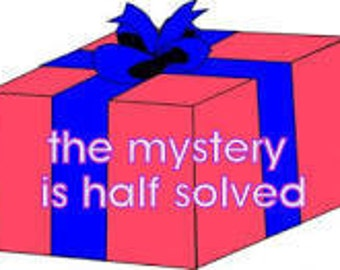 The Mystery is over Half Solved .. MYSTERY Supplies Box ..Over 300 pieces ... Jewelry Supplies for crafters and Jewelry designers