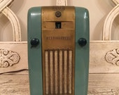 Westinghouse Refrigerator Radio Little Jewel - Vintage Tube Radio - Great for Restoration Project or Decor