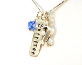 Child Abuse Survivor Necklace - Child Abuse Awareness Jewelry - Child Advovacy Jewelry