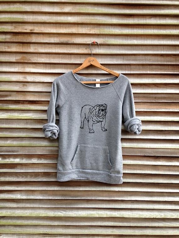 my faithful Bulldog Sweatshirt, Bulldog Sweater, Dog Shirt, S,M,L,XL,2XL