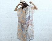 Final SALE ***** Paisley Kaftan Dress - Silk