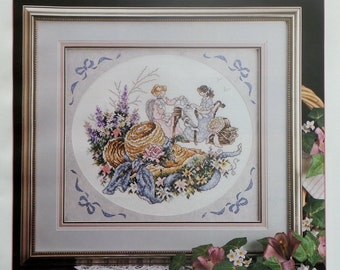 Stoney Creek Collection AFTERNOON TEA May/June 1993 - Counted Cross Stitch Pattern Magazine