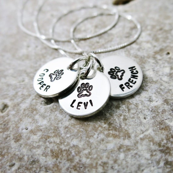 Pet Necklace | Custom Pet Jewelry | Personalized Pet Jewelry | Custom Dog Necklace | Custom Cat Necklace | Pet Lover | Gift for Pet Mom