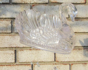 Swan/wind chime/outdoor Garden/Outdoor/Porch/room/Garden decoration/Accent/bling