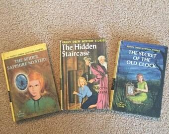1950s and 60s Nancy Drew Books