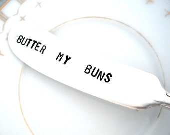 Stamped Spreader - Butter My Buns - Royal Pagent 1937