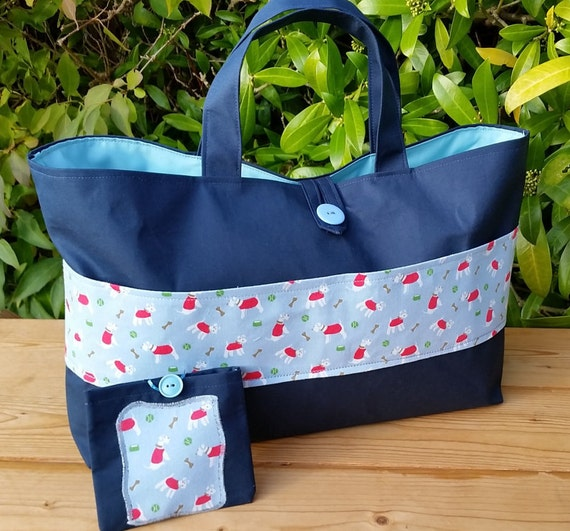REDUCED Knitting Bag with Cath Kidston Mini Stanley by Krisscraft