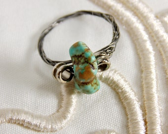 Recycled Guitar String Ring