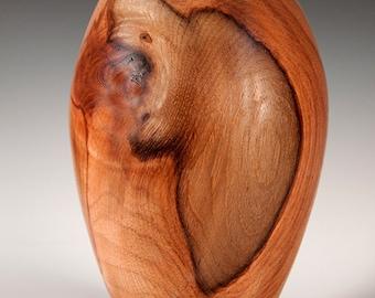 Teak Decorative Vase