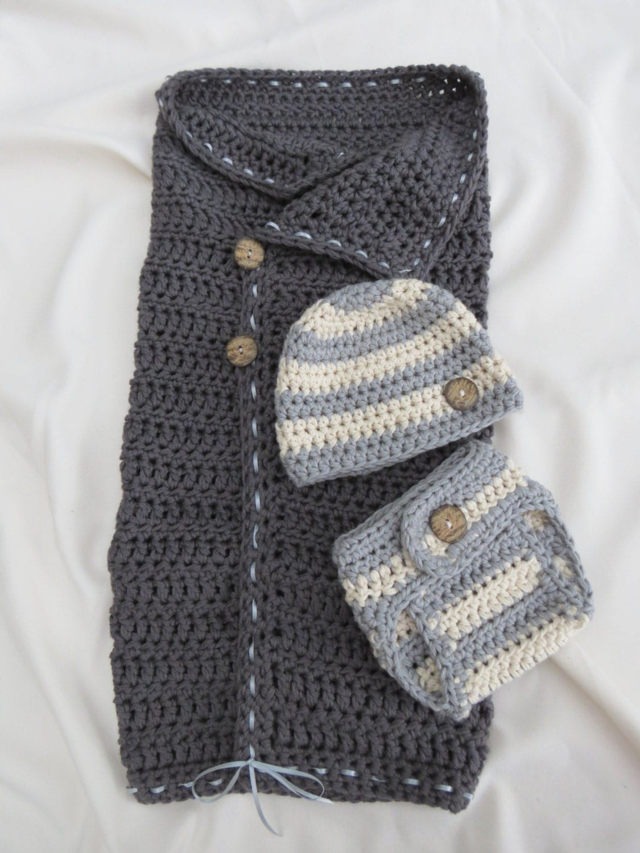 Crochet Diaper Cover : CROCHET PATTERN Diaper Cover Hat Pattern by DeborahOLearyPattern