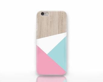 Color block 3D iPhone 6/6s case-wood case-iPhone 4/4S-color block iPhone 6 Plus case-iPhone 5/5S-Galaxy S4/S5/S6 case-Natura Picta-NP3D040
