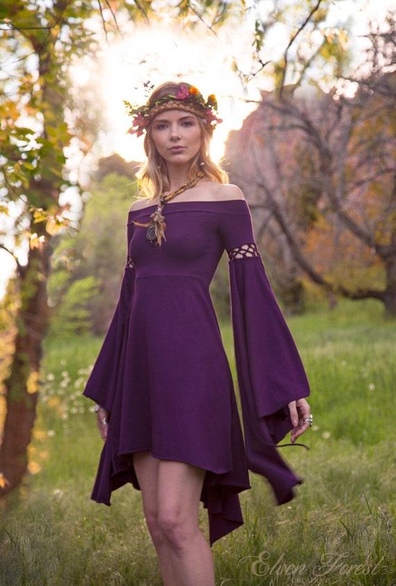 summer 39 s eve dress elven forest bohemian romantic