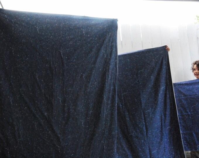 Organic Cotton Blanket, Navy Constellation Throw, Constellation Map Blanket