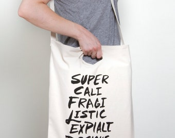Supercalifragilistic Tote Bag | Mary Poppins