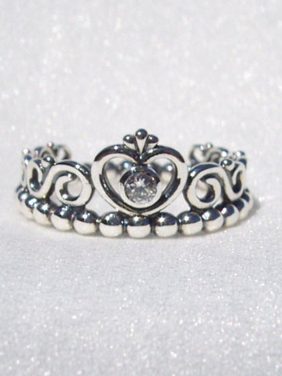 pandora my princess ring high fashion cz designer by