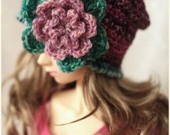 Delf Feeple60 SDGr - Bohemian Slouch Beanie Hat - for Volks ABJD Super Dollfie SD SD13 or Luts type Doll
