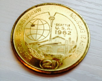 1962 Century 21 World's Fair Trade Token