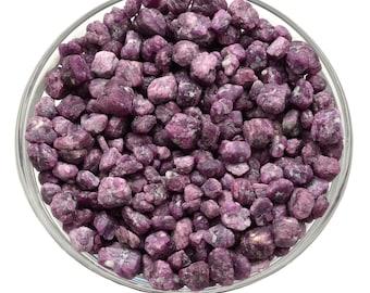 10 gm LEPIDOLITE Lithium Nuggets XS Tumbled Stones w PinkTourmaline Rubellite (Approx 8) Healing Crystals Medicine Bag Reiki Jewelry Crafts