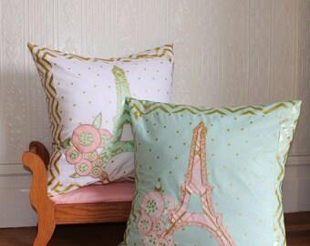 Paris Pillow Sewing Pattern - PDF - Instant Download