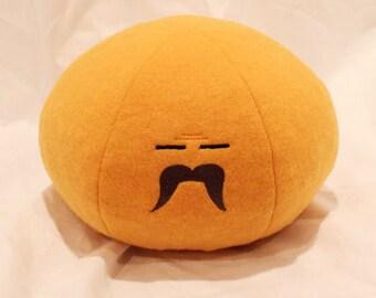CHUBBY Dango Plush, Angry Blushing Dango Pillow, Clannad Dango, Mochi Plush, Clannad Cosplay - Hand-made - size Medium Chubby